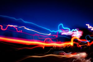 Flashing lights by AmbientExposures