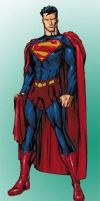 Modified Ultimate Superman by wiegeabo