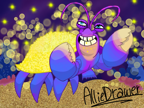 Grand Theft Tamatoa by AllieDrawer