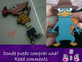 PHINEAS AND FERB USB by Laura137