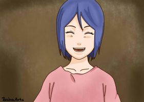 Konan as child by BakaArts