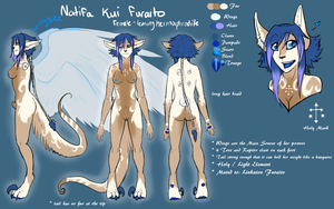 [Personal] Natifa Reference by MystikMeep