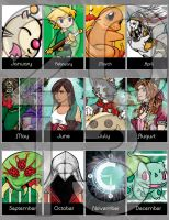 2013 year in Art by beanzomatic