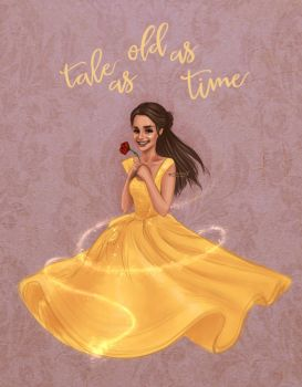 Tale as old as time by miloutjexdrawing