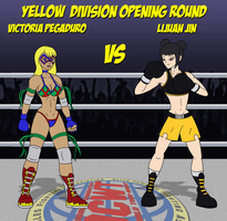 Victoria vs LiJuan (CLOSED!) by mayydayy