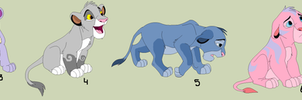lion cubs 5 by HappyDucklings