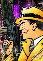 Dick Tracy by cussoncheung