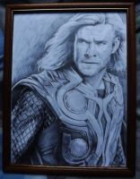 Thor-Chris Hemsworth by Hulkster77