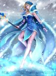 Crystal maiden Arcana by ChubyMi