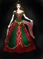 Myredandgreenversion of Elissa by Selinelle