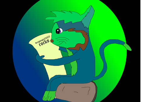 its dragongirl2002 as a cat by MALFANFOREVER13