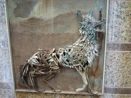 Truckee River Walk: Coyote by rifka1