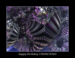 happy birthday CMDRCHAOS by fraterchaos