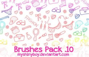 Brushes Pack .10 by MyShinyBoy