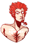His Royal Douchebaggery, Leon Kuwata by R3DGlare