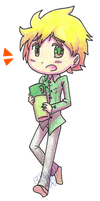 Tweek Chibithing by FlyAwayMax