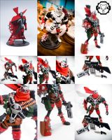 Spawn issue 55 custom set-b by SomaKun