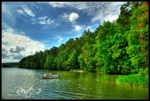 Rest at the lake 2 by talsei
