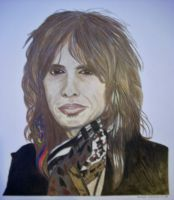 Steven Tyler Colour 2 by donna-j