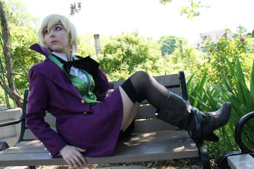 Alois Trancy. (for lack of a better title.) by Danielle-Quade