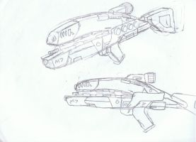 M7-class Assault Rifle help by Silent-Valiance