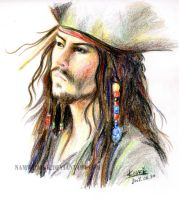 Jack Sparrow by Namwhan-K