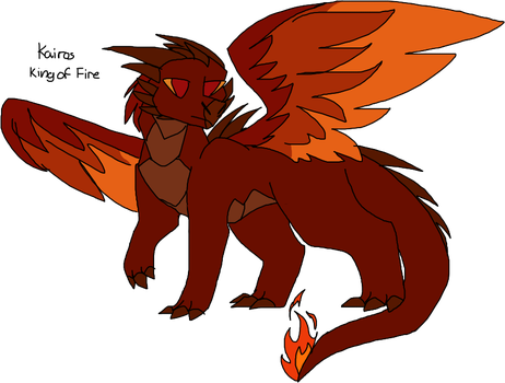 Kairos - King of Fire by DoggieWuv