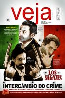 magazine cover VEJA by jotapehq