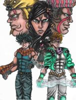 JJBA: Battle Tendency by CHAOS-CHAOS-CHAOS