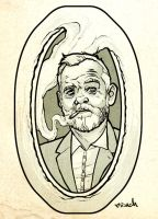 Bill Murray Tattoo Design by rachelroach