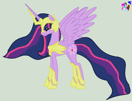 Older Princess Twilight Sparkle by Casey-the-unicorn