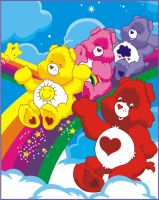 care bears by vonBorowsky