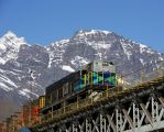 Train on the top by LidiaRossana