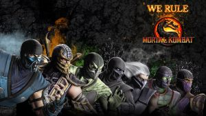 MK Ninja Wallpaper 2 by Poser96