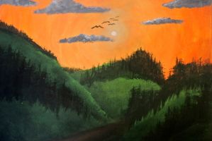 My first Landscape Painting by psimpson1