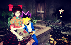 MMD - Yu-Gi-Oh - In the mansion conservatory by InvaderBlitzwing