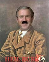 Heil Bush by welsh-witch