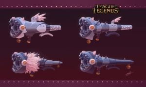 League of Legends: Fishbone concept art by Shockowaffel