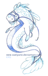 Sketch 10 04 12_Manatee-Dragon by Vaelyane