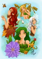 AL - Aria and the seasons by LadyRosse