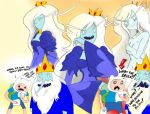 Adventure Time- Ice Queen by Ice King by Jbaaron
