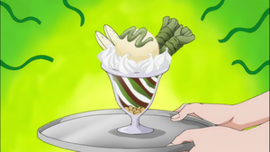 Chocolate and Wasabi Mousse by TheBoar