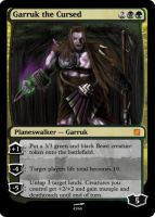 Garruk the Cursed by Rivaren