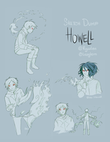 Howell Sketches by Leaglem