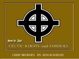 Celtic Symbols and Cross.zip by blueeyedmagickman
