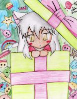 Kagome's Gift by salmuchis3
