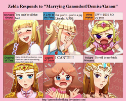 Response to Marrying Ganondorf/Ganon/Demise by GanondorfEvilKing