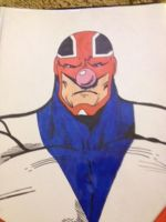 captain britain? by artbaby08