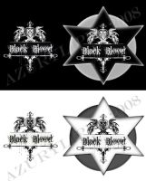 Logo Black Blood by azurylipfe