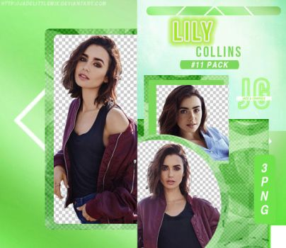 PNG PACK #11-Lily Collins by jadelittlemix